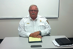 Fire Chief Ron Moellenberg