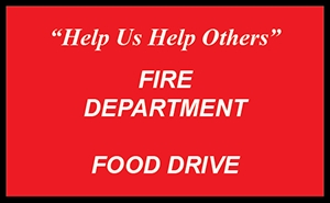 Pflugerville Fire Department Food Drive