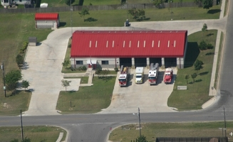 Pflugerville Fire Department Station 4 Arial