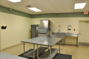 photo of kitchen at Pfluger Hall
