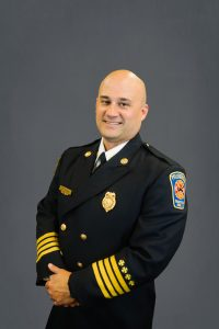 Assistant Fire Chief Nick Perkins